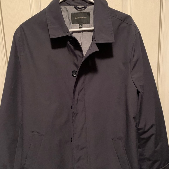 Banana Republic Other - Water-Resistant Mac Jacket